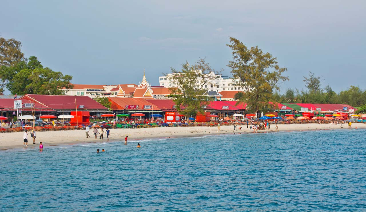 Serendipity and Otres Beaches are must visit in Sihanoukville Cambodia
