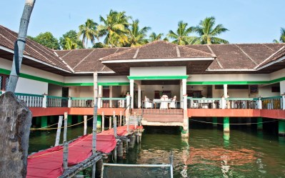 Tea stop in the Kerala Backwaters
