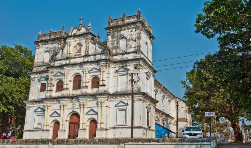 Divar Island Church Goa