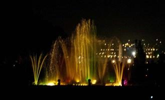 Brindavan Gardens and Musical Fountain