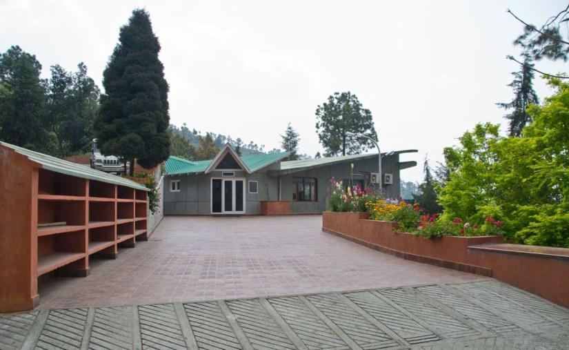 Meditation Hall Satkhol Himalayan Ashram