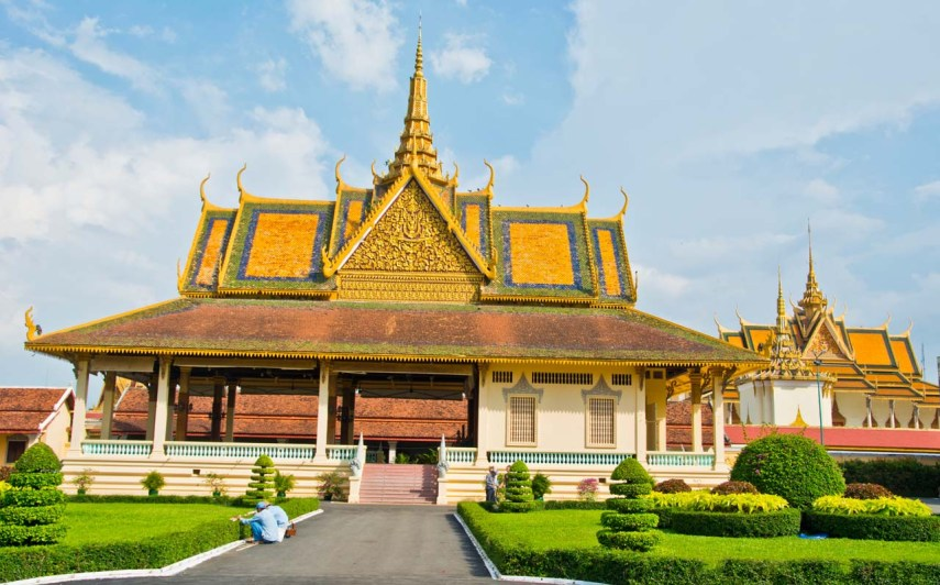 Moonlight Pavallion Royal Palace Phnom Penh