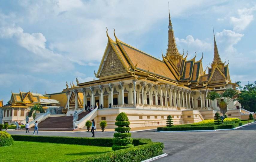 Throne Hall Royal Palace Phnom Penh Cambodia