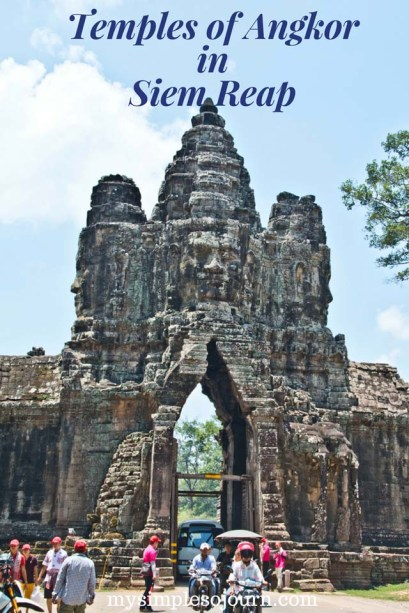 Temples of Siem Reap in Angkor Archeological Park