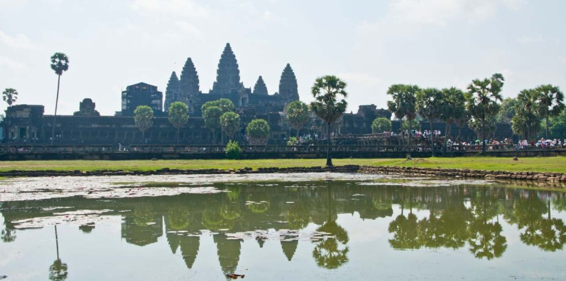 Angkor Wat overview