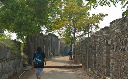 Inside Kolaba Fort in Alibaug