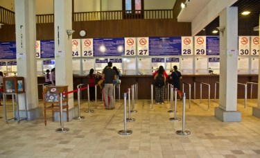Inside of ticket counter, Angkor Wat