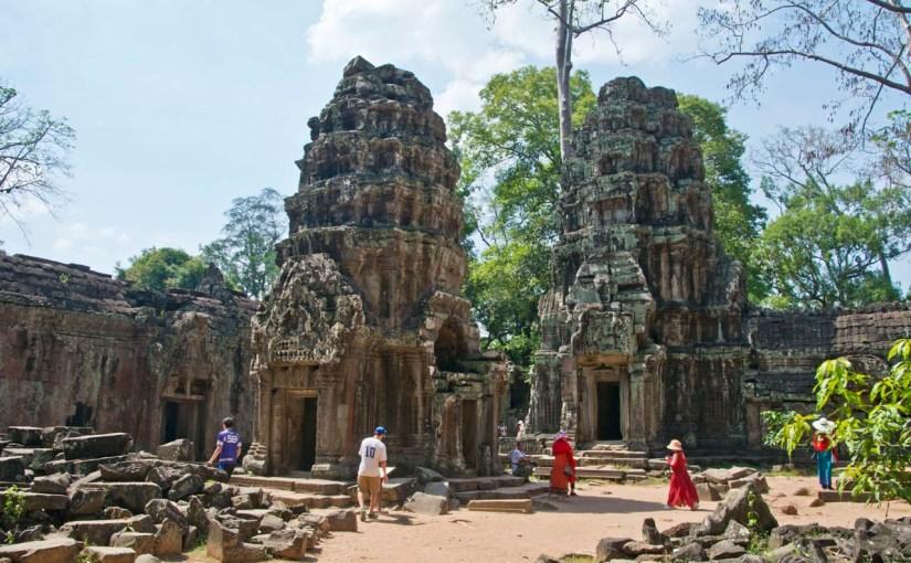 Ta Phrom temple, Siem Reap Cambodia