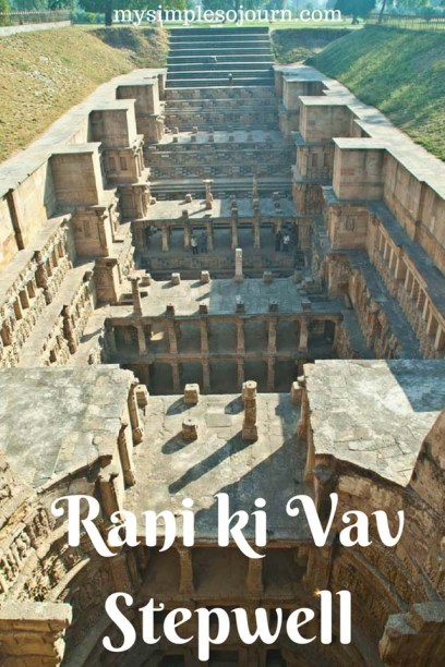 Beautiful Queen's Stepwell Rani ki Vav Patan in Gujarat, India