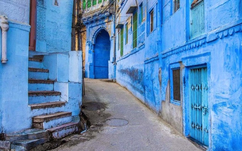 Blue Lanes of Jodhpur