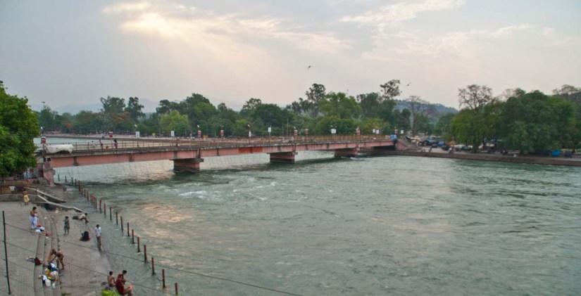 Ganga River in Haridwar