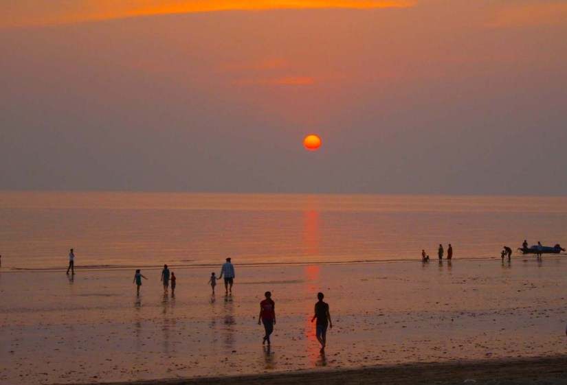 Sunset at Mandvi beach