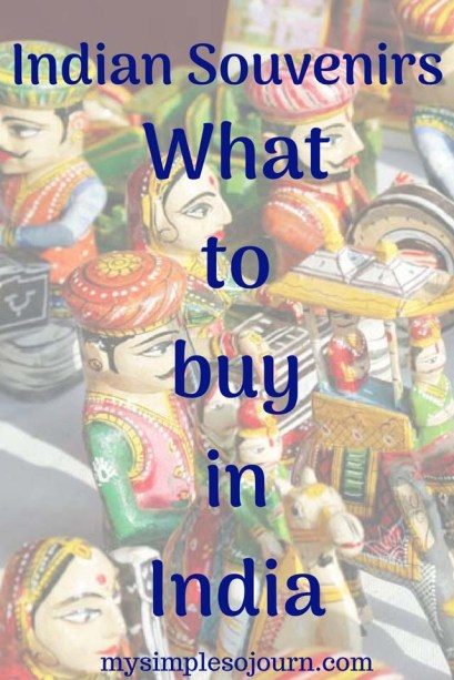 Unique Indian Souvenirs and What to buy in India