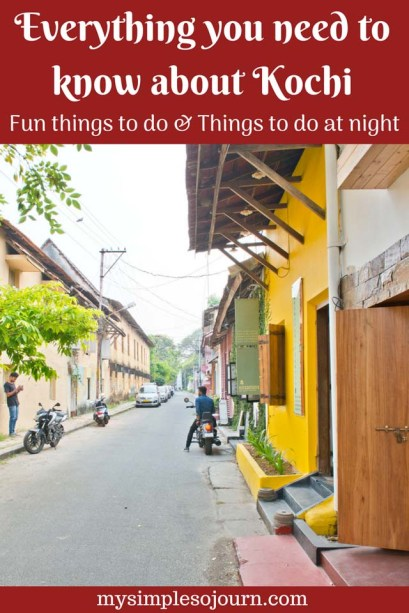 Places to visit in Fort Kochi, Fun things to do in Kochi and Places to Visit in Kochi at Night