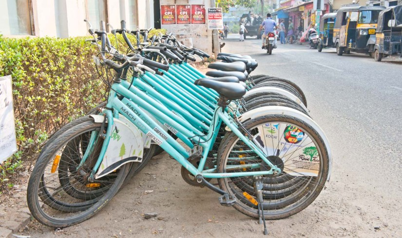 Cycle in Fort Kochi
