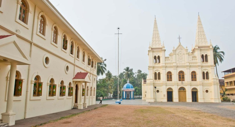 Santa Cruz Cathedral Basilica Fort Kochi