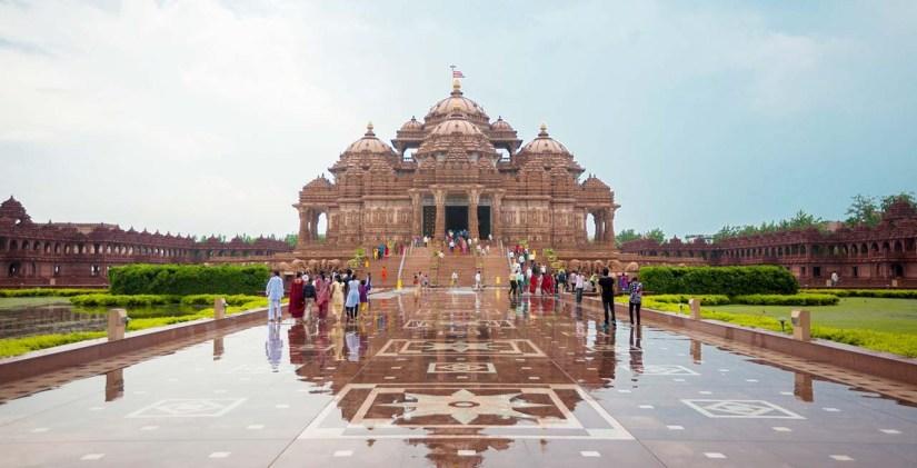 Akshardham temple Delhi