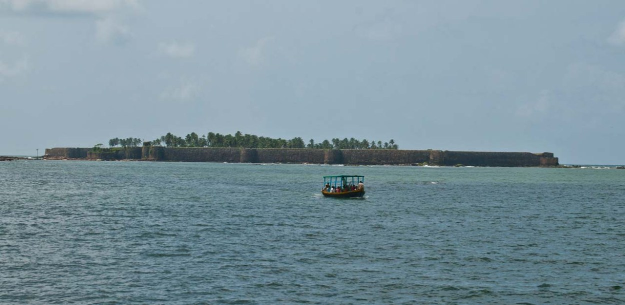View of Sindhudurg fort