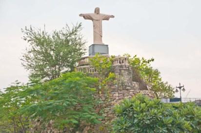 Christ the Redeemer of Brazil at Seven wonder Park kota