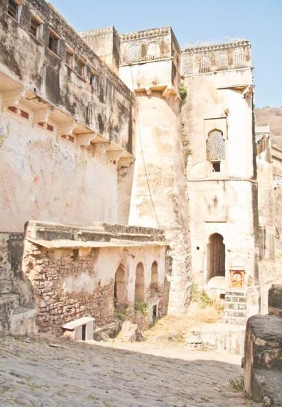 Taragarh Fort Wall