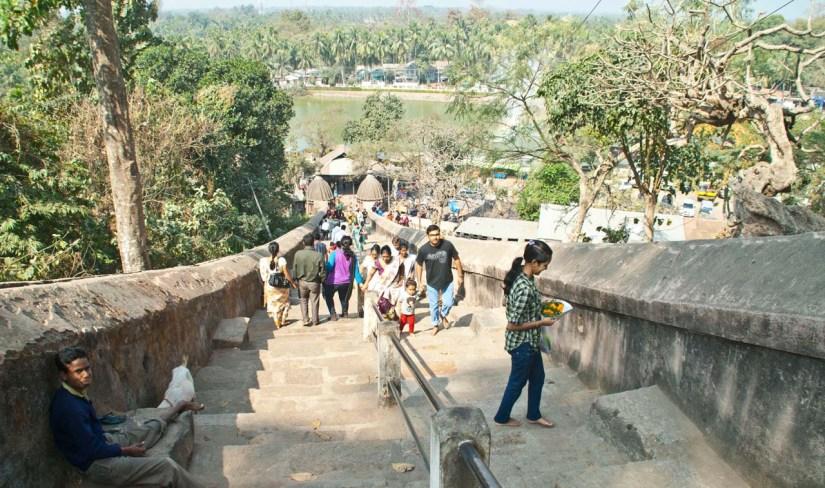 Madhab Pukhuri near Hayagriva Madhava Temple Hajo