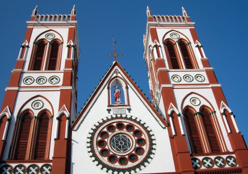 Basilica of the Sacred Heart of Jesus Pondicherry