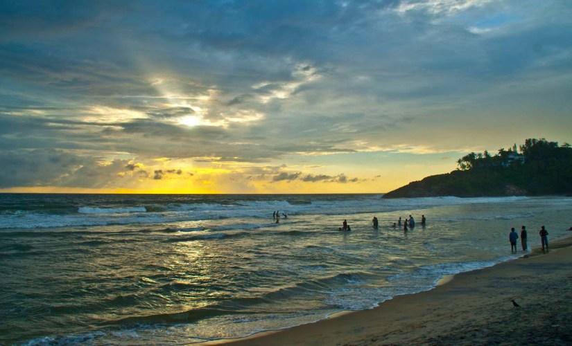 Kovlam beach Kerala