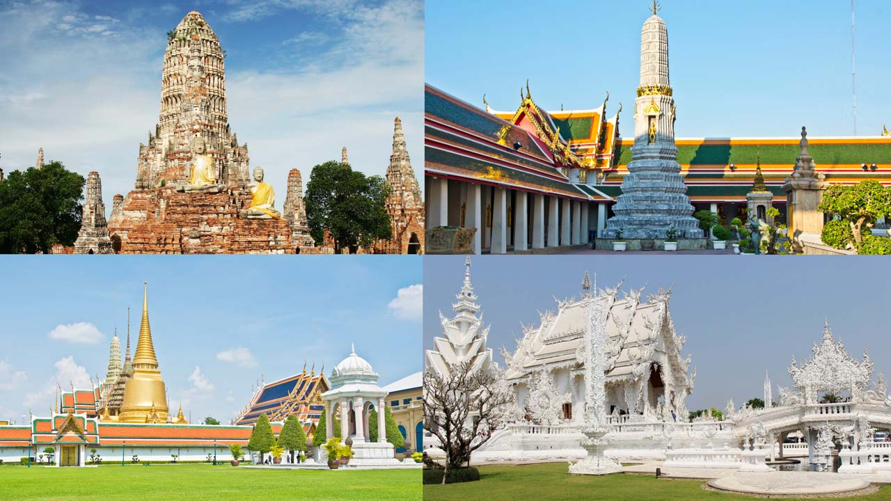 Best temples in Thailand