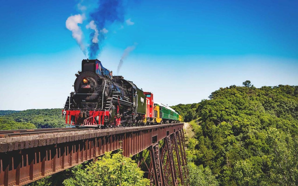 Best train trips in the world