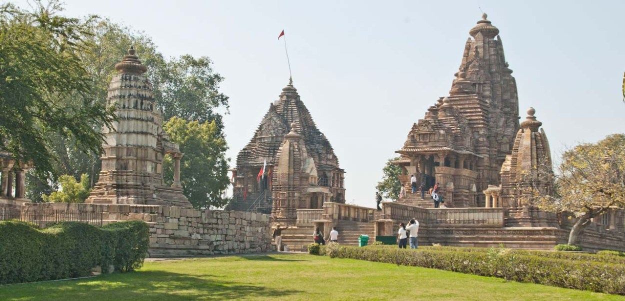 Temples of Khajuraho in western group