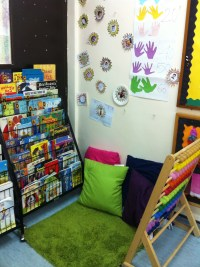 A Reading Corner is Ready | Simply Kids