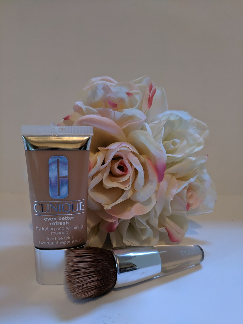 The perfect canvas brush and foundation