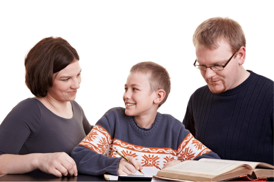 homeschool-child-and-parents