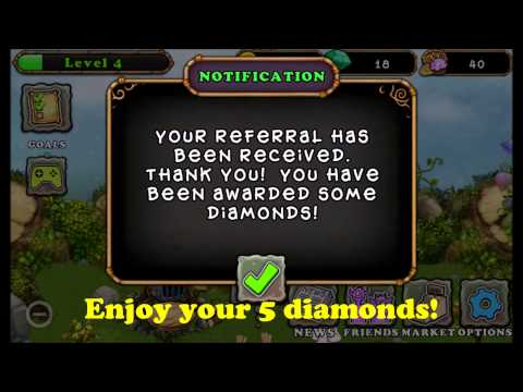 Get your 5 free diamonds