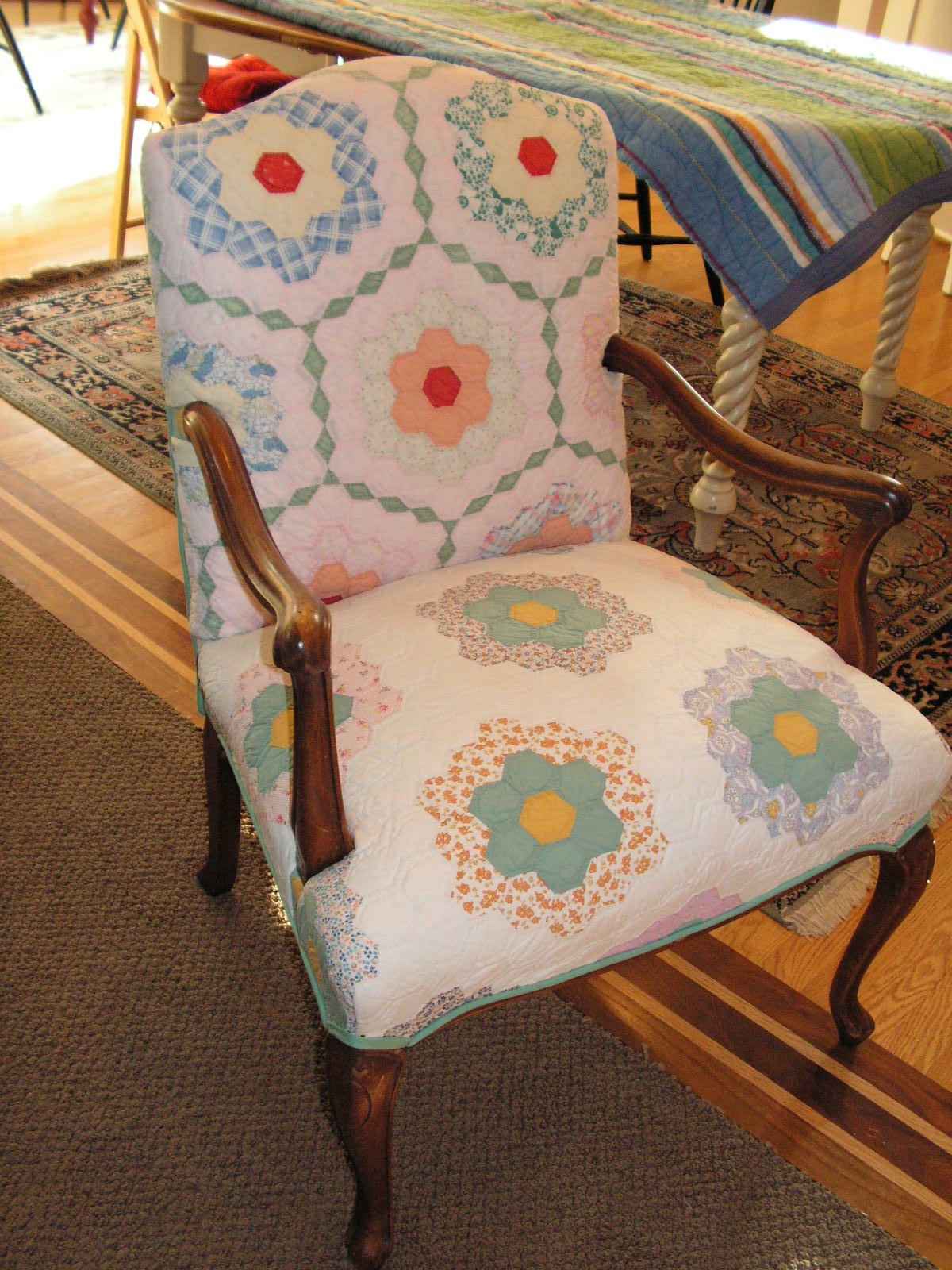 chair cover quilting toddler girl the quilted my sister 39s jar