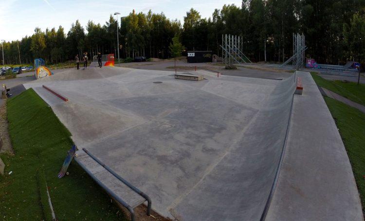 Lundby Park (utanför Borås Skatepark)