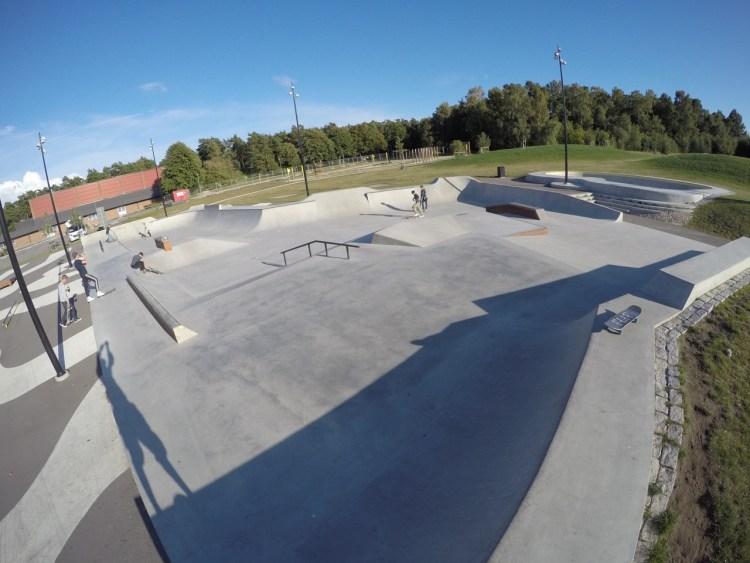 Furulund Skatepark Kävlinge