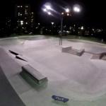 Åva skatepark - bra belysning