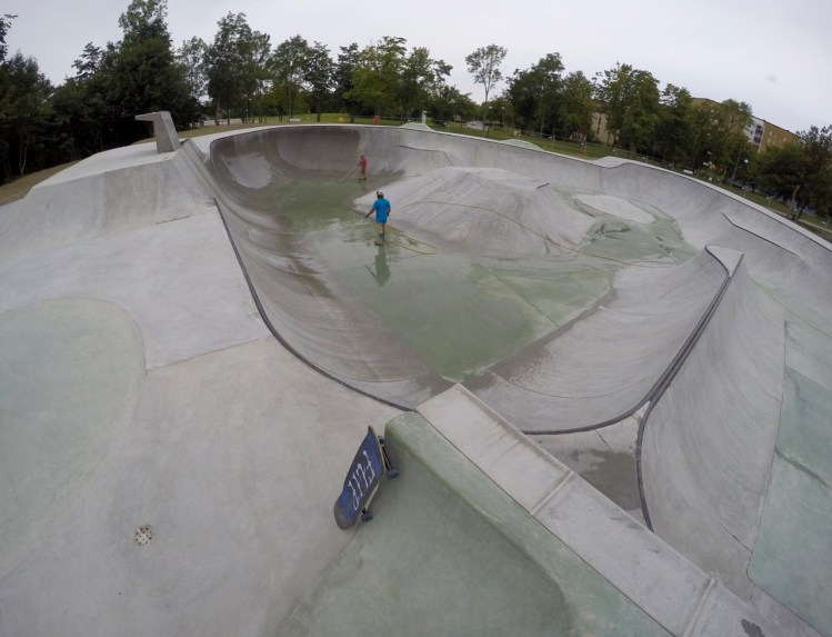Hyllie VANS Skatepark Betongpark Kroksbäcksparken