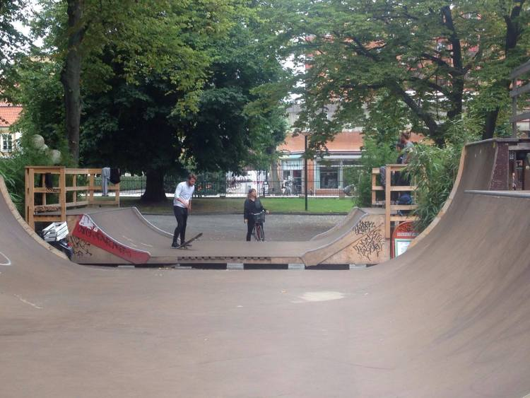 Folketspark Skatepark Malmö