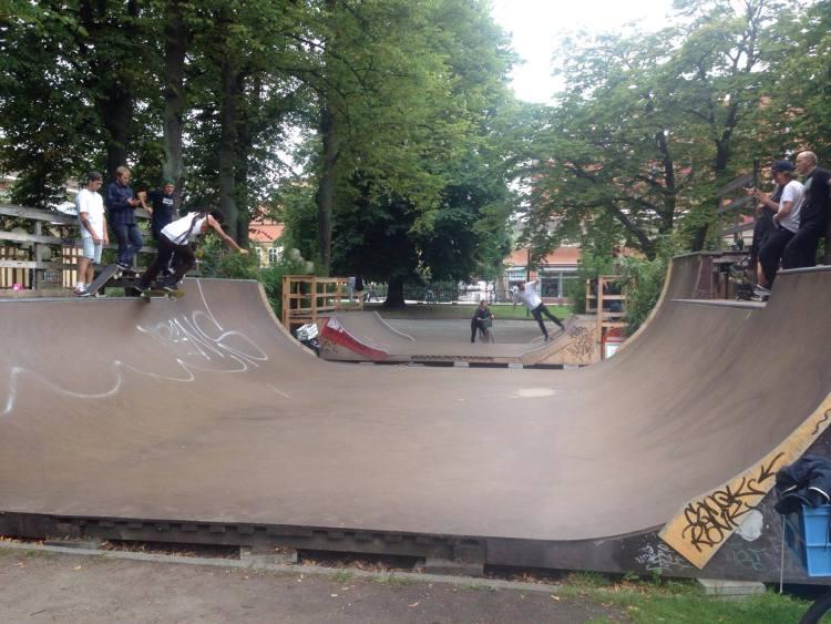 Miniramperna Malmö Folketspark