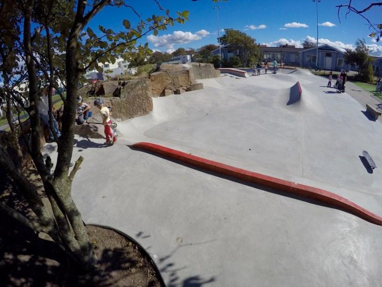 Lysekil Skatepark Betongpark