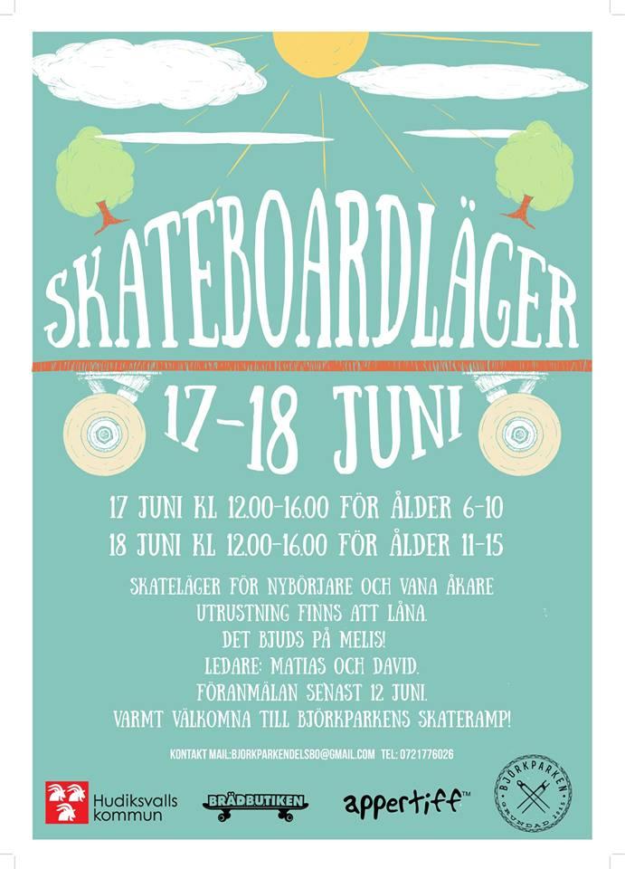 Skateläger Björkparken Delsbo