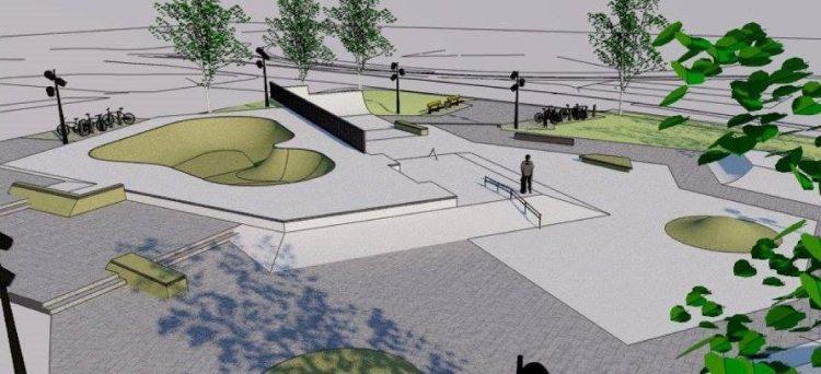 Hjo Skatepark betongpark