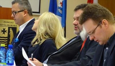 """Sesja Rady Powiatu Myśliborskiego  Przekazanie udziałów """"Szkunera"""" Gminie Myślibórz – 16 lutego 2015 r."""
