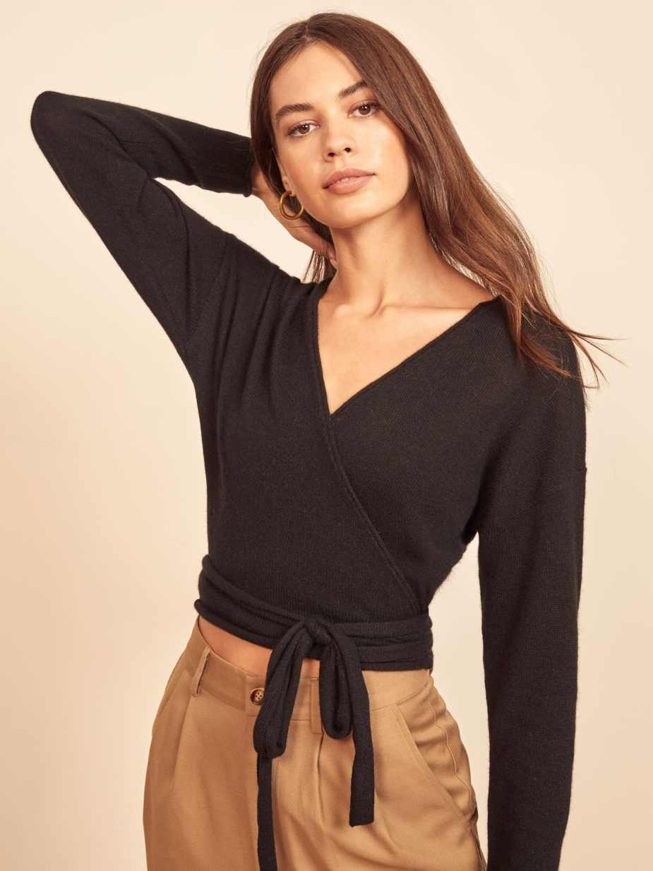 recycled cashmere reformation