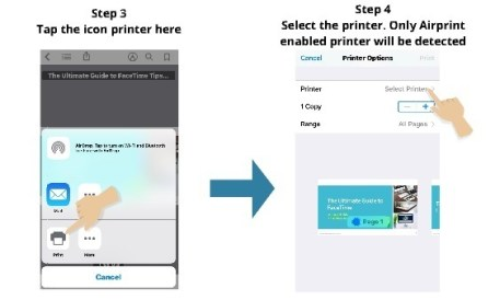 how to print from your phone 5
