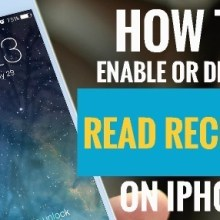 How to Enable or Disable Read Receipts on iPhone