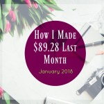 January 2018 Review & Income Report