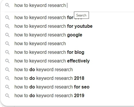 long tail pro keyword research